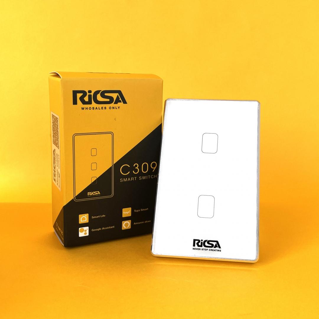 Công tắc cảm biến thông minh RICSA C309 2LOOP
