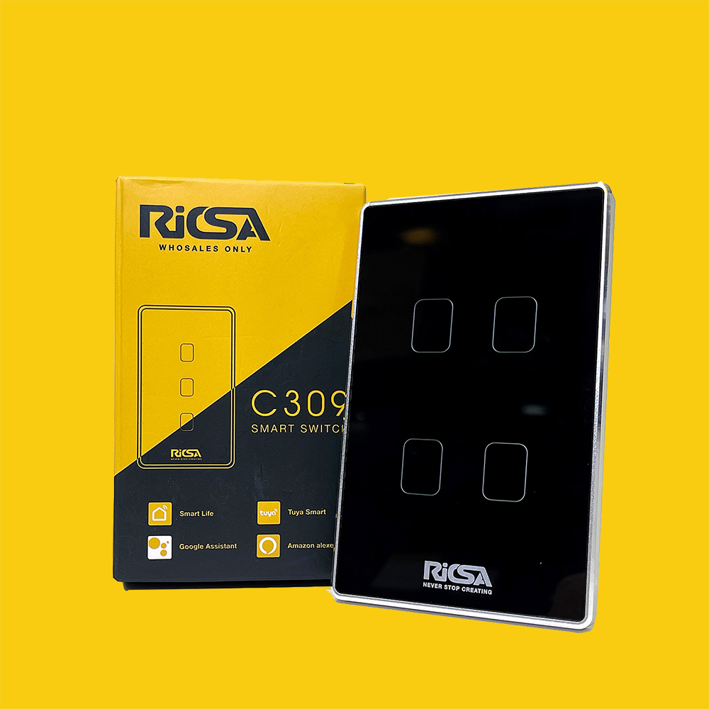 Công tắc cảm biến thông minh RICSA C309 4LOOP